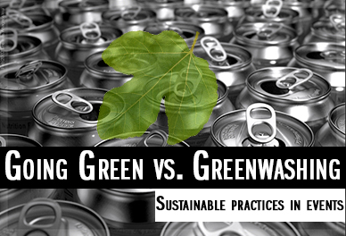 going green vs greenwashing