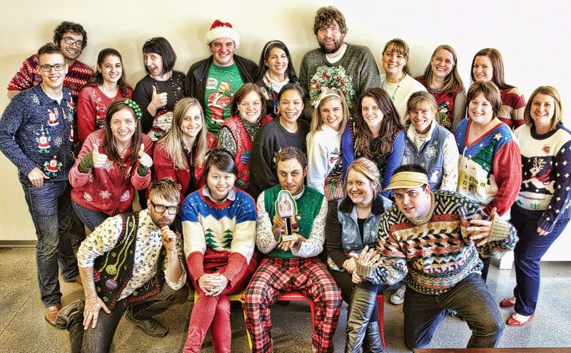 Employee Ugly Sweater Party