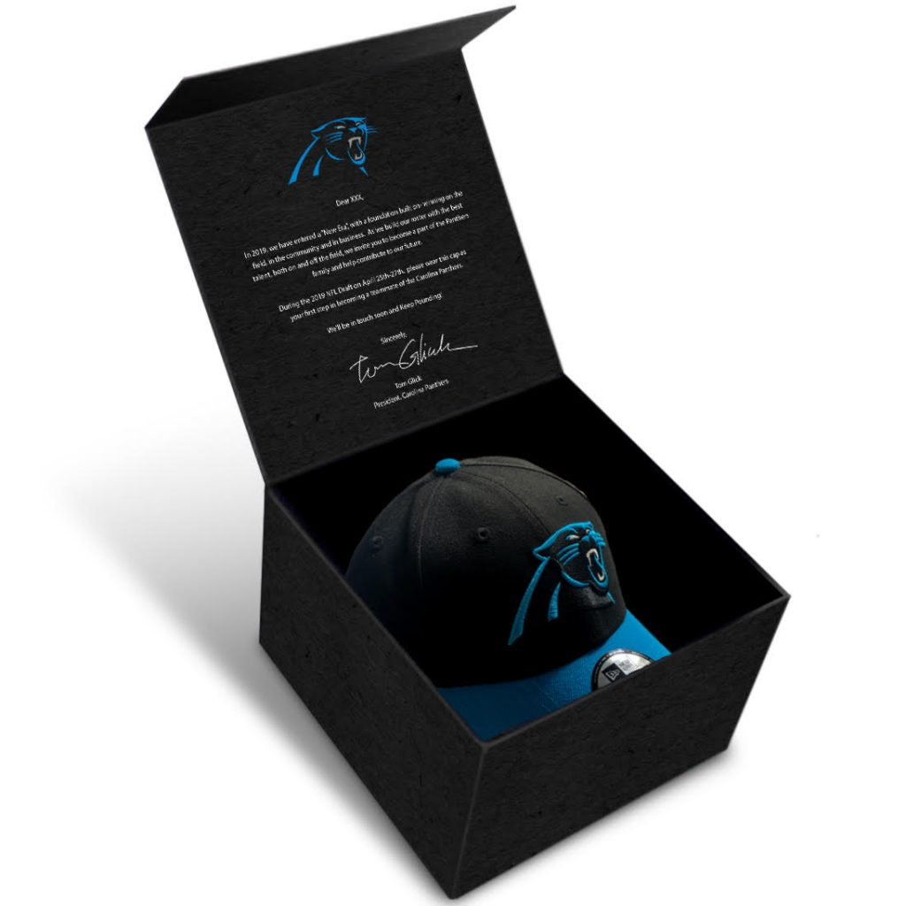 Carolina Panthers Draft Hat